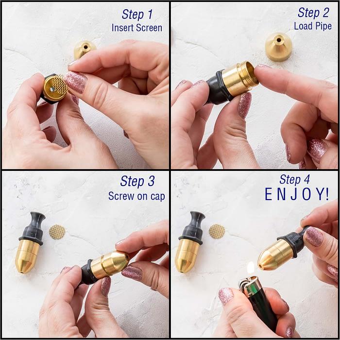 Brass Rubber Instructions