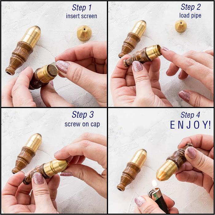 Brass Wood Instructions